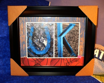 UK University of Kentucky Wildcats Photo Statement Framed Print