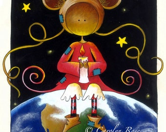 I am on top of the world Original artwork