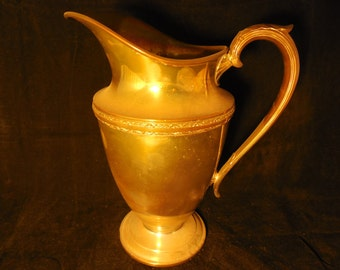 Wm. Rogers & Son Silverplate Water Pitcher     M320