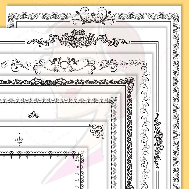 Decorative Design Png Ornate Borders Design Png