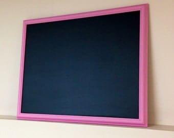 Large Framed Chalkboard, 16 x 20 Chalkboard, Any Color Frame