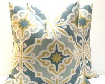 Gray Yellow Fabric Etsy