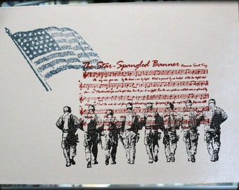 Patriotic Blank Note Cards with envelopes