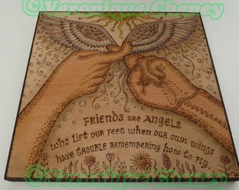 Friends are Angels in ASL