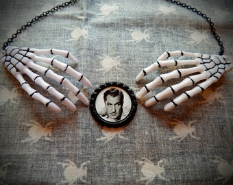 Master of Horror Skeleton Necklace