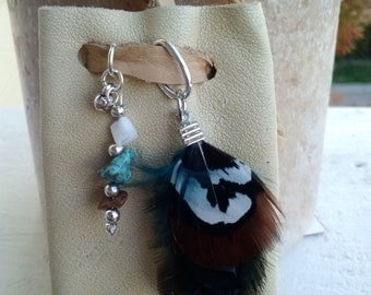 Native American Medicine Bag. Necklace