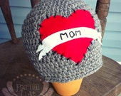 ALL SIZES/COLORS Mom Tattooed Beanie