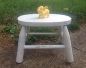 Reserved for Ashley. - Shabby Chic Stool  SHipPInG NoT INCluDeD