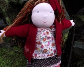 Custom reserved for Tiffany Snow  15-16 inch Waldorf Doll
