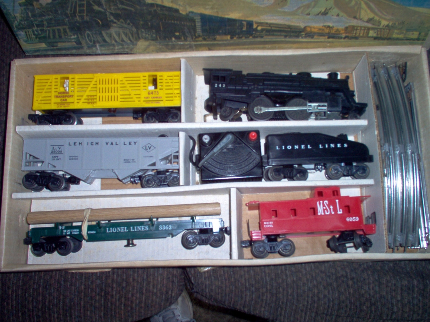 how to set up a lionel train set