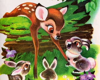 Walt Disney's Bambi - picture book based on the movie