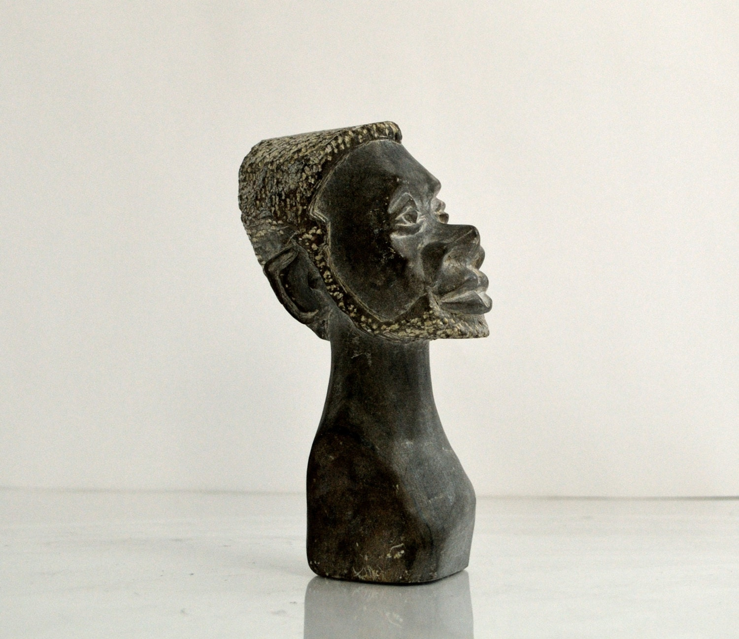 Hand carved stone sculpture african art by treasuremountainnc
