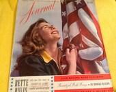 The Ladies Home Journal Magazine July 1941 Bette Davis