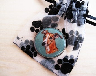 CLEARANCE - Whippet original pin or magnet
