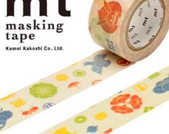 MT Washi Masking Deco Tape Japanese Traditional Symbols Design