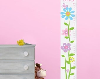 Personalized Growth Chart, Growth Chart Ruler, Kids Gift, Growth Ruler, Never Grow Up, Kids Gift, Gift for kids, Growth Chart Decal, Height