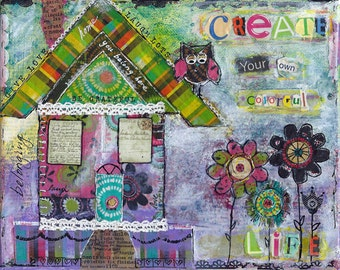 Create Your Own Colorful Life artwork