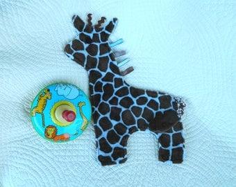 Baby Blue Giraffe Snugglie