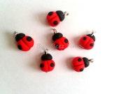 Ladybug charm (3)