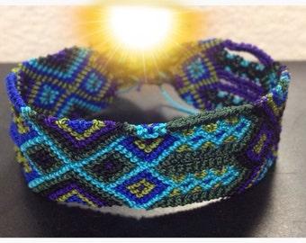 SALE Blue Sky Friendship Bracelet  - 24 Strings (023M)