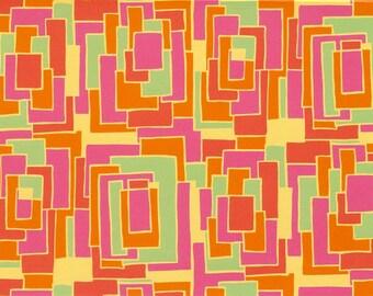 Patty-O Park:  Set of 6 A2 eco greeting cards in sorbet colors. Blank inside. Design by Carol Van Zandt for Studio Seneca Fine Arts