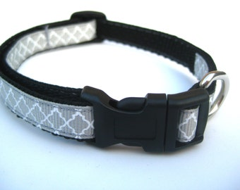 "Best Puppy Collar. 1/2"" wide, available in S (8-14"")"