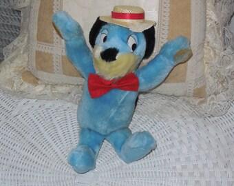 Huckleberry Hound plush Hanna Barbera :)