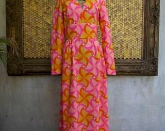 1960's Neon Dress