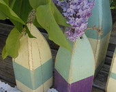 Vintage style Wooden Buoy for Wedding Decor
