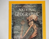 National Geographic Magazine - May 1984 - The Dead Do Tell Tales at Vesuvius  - Vintage Magazine Back Issue