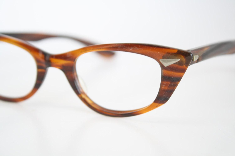 Retro Cat Eye Eyeglass Frames : B&L Cat Eye Eyeglasses Vintage Eyewear Retro Glasses Cat Eye