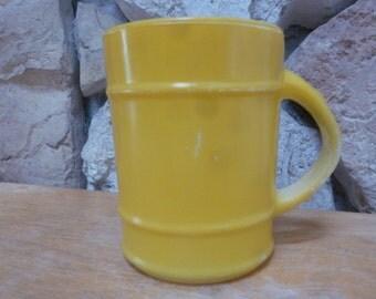 Fire KIng yellow barrell mug