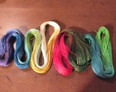 2 Size 80 Custom Dyed Skeins
