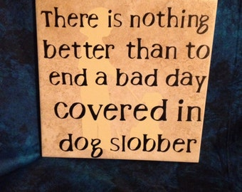 Dog Slobber Tile