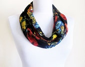 Autumn Scarf, Scarves, Women Accessories, Woman scarf, Fall Style, Lemon Trees