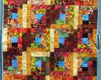 Fall Quilt Wall Hanging or Table Runner, Autumn