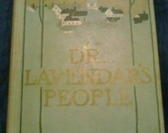 Vintage Book, Dr. Lavendar's People ECS