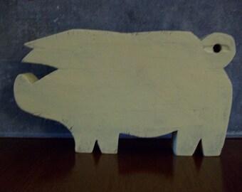 Old Pig Choppin Block/Board