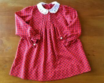 SALE Vintage Floral Dress (baby)