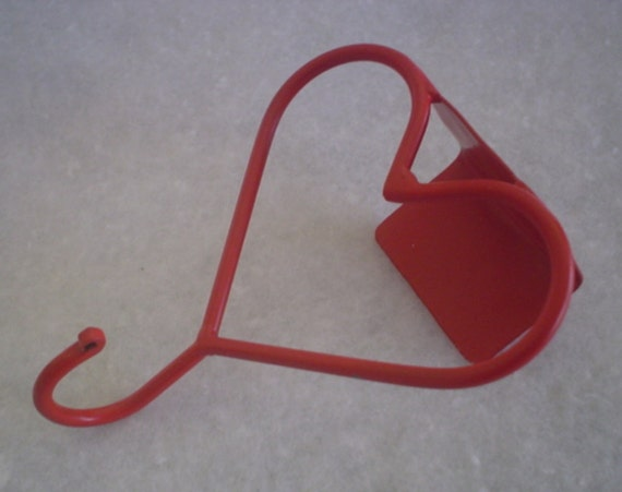 Simple Red Heart Coat Hook For Cubicle Office Divider by ...