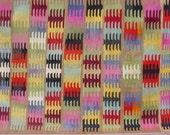 "MODERN Bohemian Turkish Kilim Rug Carpet, Handwoven Kelim Rug,Antique Kilim Rug,Decorative Kilim, Natural Wool  74,8"" X 114,5"""