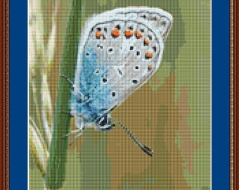 The Nature Of The Butterfly Cross Stitch Pattern