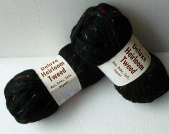 Vente Tweed noir Heirloom Deluxe Tweed par fil universel