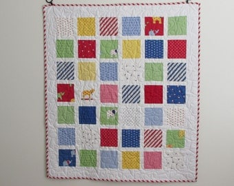 Celebration by Bunny Hill Design-Lattice Boy Quilt...