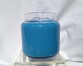 Blueberry scented container candle