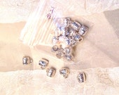 Destash Connector Beads in Silvertone