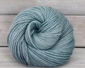 Vega - Hand Dyed Alpaca Merino Wool Silk Worsted Yarn - Colorway: Harbor