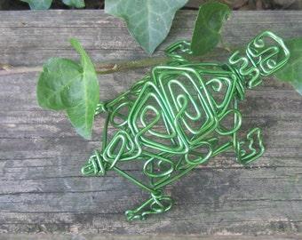 Wire Sculpture Turtle