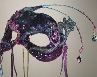 Purple Masquerade Mask