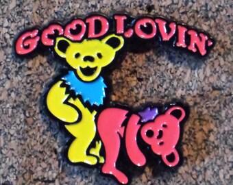 Grateful Dead - Good lovin' dancing bears pin